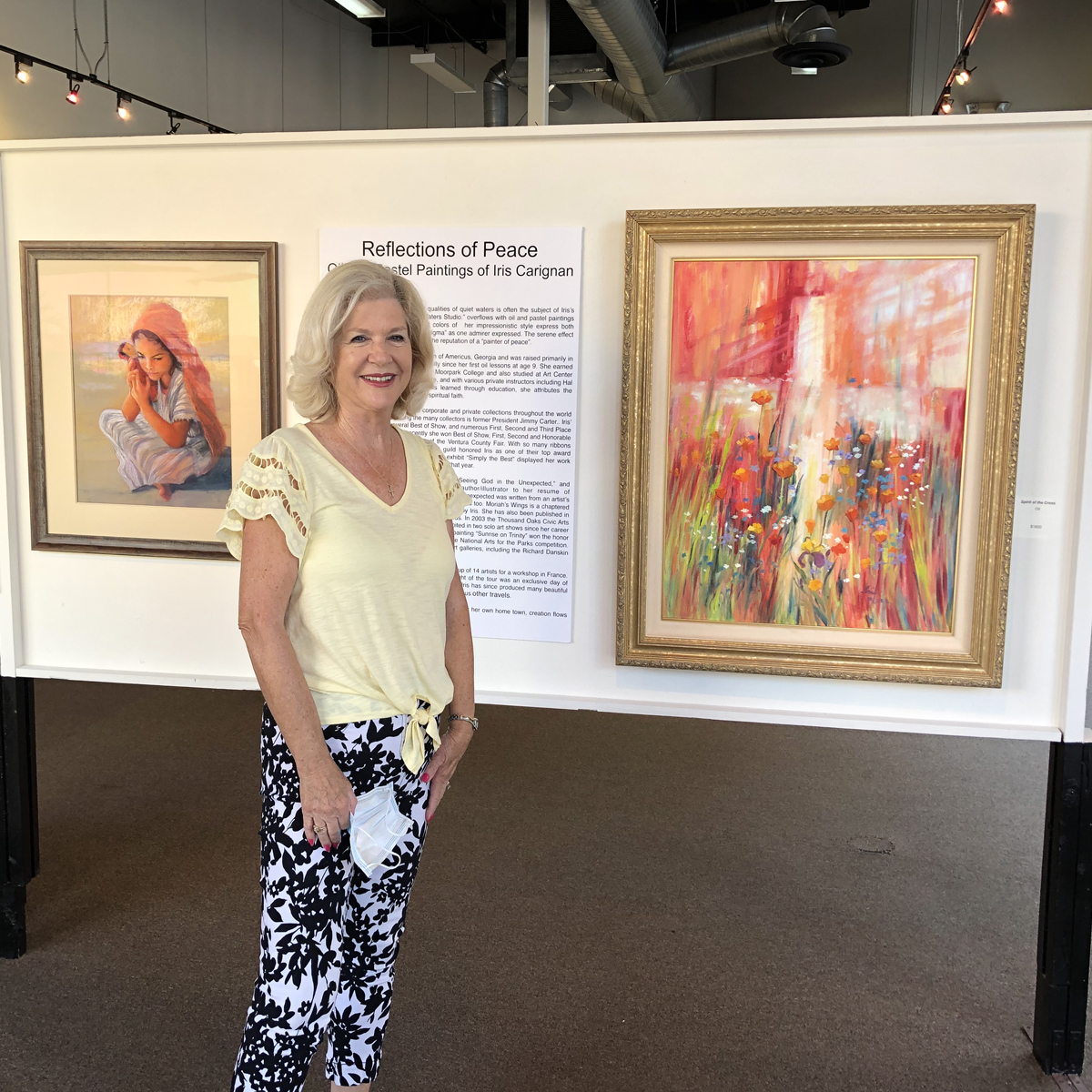 An Update of Reflections of Peace Exhibit at the Conejo Art Museum