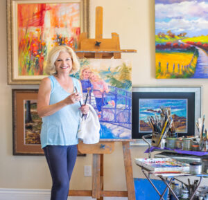 Iris Carignan - Still Water and Impressionistic Painter